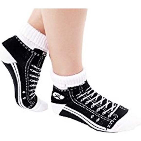 Unique socks that look like shoes great gag gift NWT